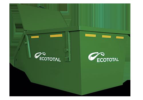 Container Caixa Com Tampa